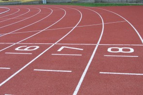Running Track using Marl Coatings' Acrylic Sports Court Coatings
